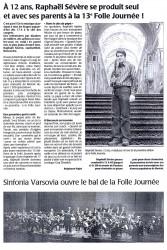 Presse Océan 31 janvier 2007